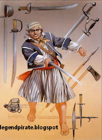 pirate armes blanches