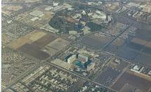 Vintage Disneyland Aerial