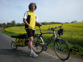 Rupert Dale cycling for The Multiple Sclerosis Society