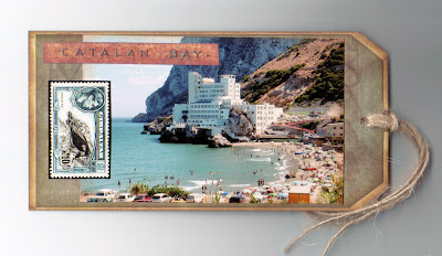 Gibraltar Travel Journal - Catalan Bay tag