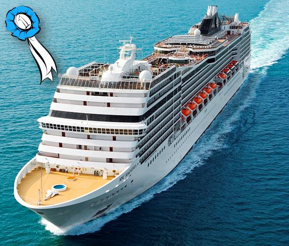 msc magnifica miss ship 2010 pazzo per il mare cruise