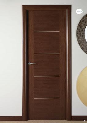 Puerta de interior wengue t240 visel artideco puertas de madera suelos laminados y - Puertas madera interior precios ...