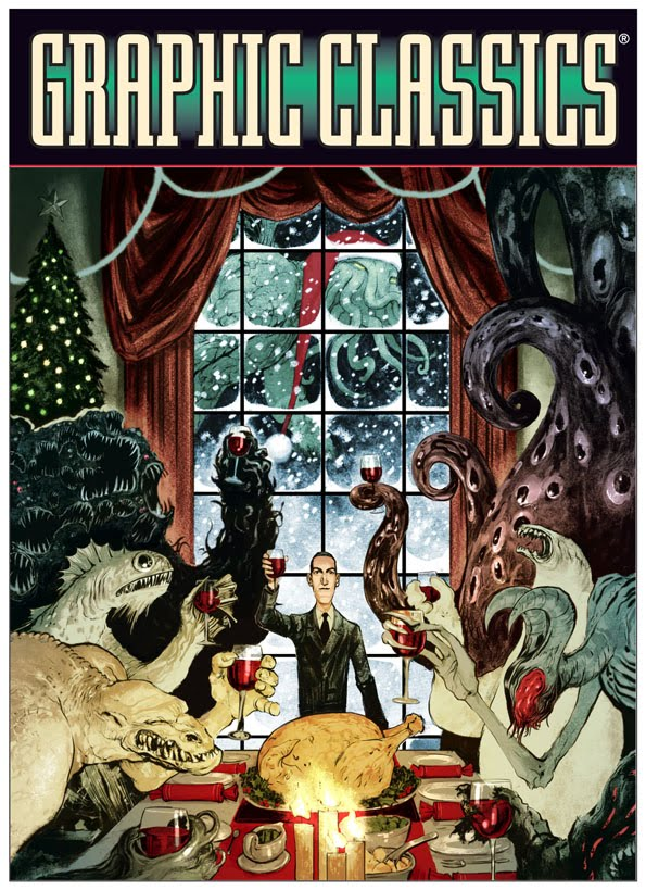 Nelson Evergreen Gets Sketchy: Christmas with Lovecraft and Friends