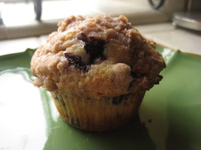 The Best Blueberry Muffin Recipe!