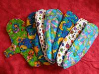 My new menstrual pad value packs!