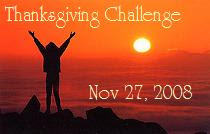 Join the challenge by writing your own list of things you're thankful for and joining the carnival