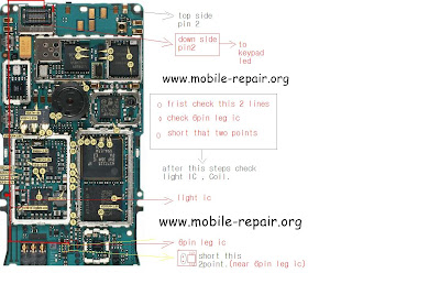 Nokia 3110c Display Lighting Problem Repair