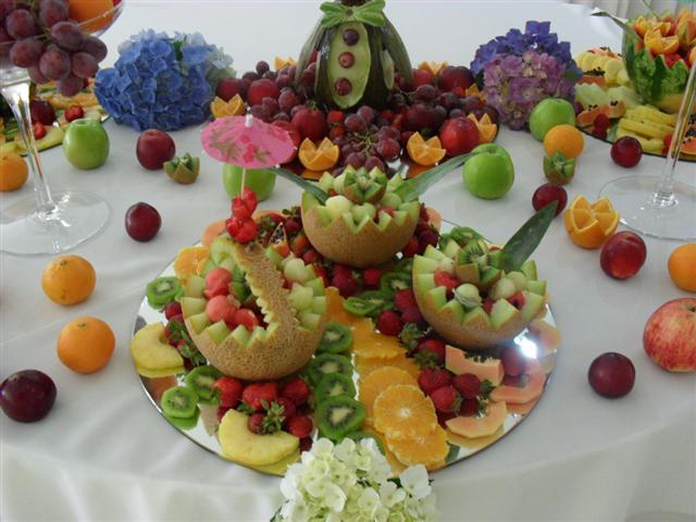 Fruta laminada