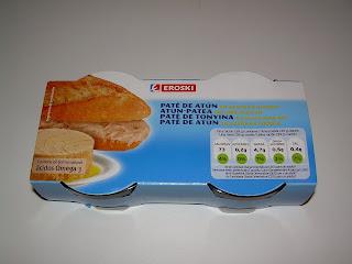 Paté de atún en aceite EROSKI | El blog de las marcas blancas (www.blog-marcas-blancas.blogspot.com)