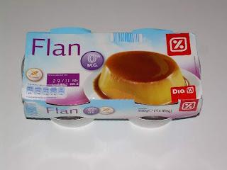 Flan huevo 0% materia grasa DIA (www.BlogMarcasBlancas.com)