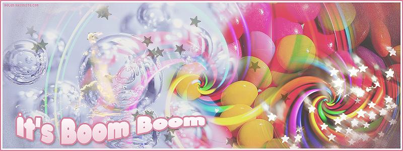 It's Boom Boom!