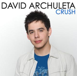 """David Archuleta - """"Crush"""""""