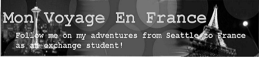 Mon Voyage En France