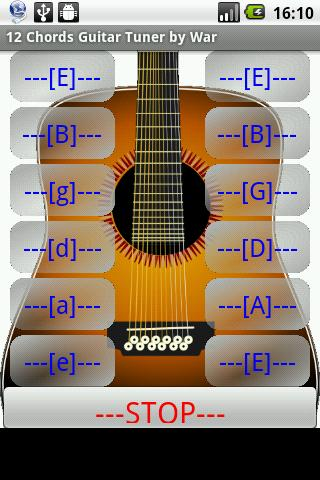 WB Android Apps: 12 STRING GUITAR TUNER