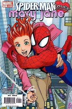 SHOJO D SPIDERMAN LO INSOLITO  Spider-Man_Loves_Mary_Jane_1