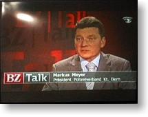 Markus Meyer im BZ-TALK