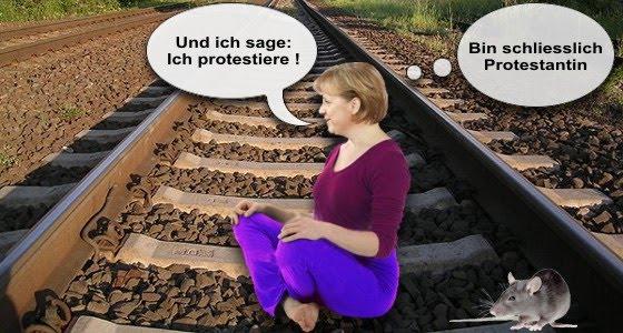 Und ich sage: Ich protestiere!