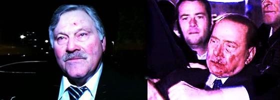 Verhasst und verletzt: Hans Fehr und Silvio Berlusconi