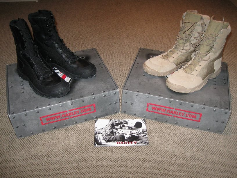 Oakley Tactical Boots Review