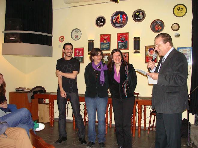 Acto de entrega de premios, Primer concurso literario Zeler-kraut, Vivencias