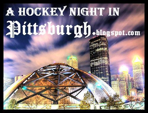 It's a hockey night in Pittsburgh !