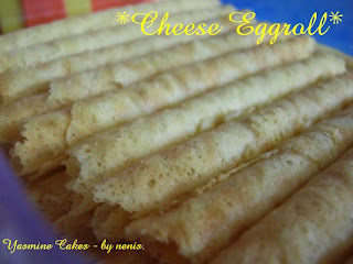 yasmine.cakes - by nenis: Cheese Eggroll