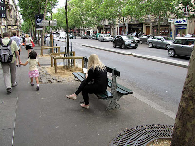 bench, Boulevard Saint-Germain