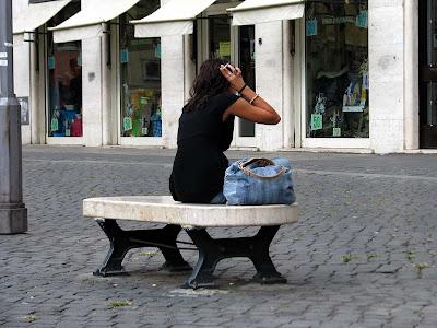 bench, via di San Nicola de' Cesarini