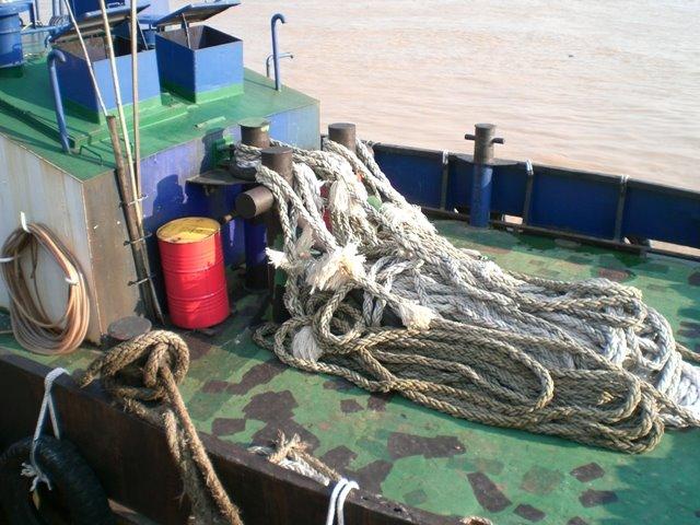 A tug boat in Sibu