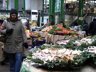 פטריות בשוק