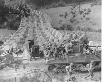 World War 2. American tank