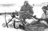 German machine gunners