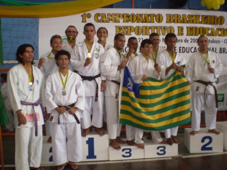 KATA EQUIPE BRASILEIRO 2008