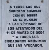 Inmemorial asesinatos del 11-M