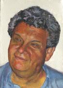 Retrato de mi Papa, Juan Bernardo Ruiz Calderon, en acrilicos