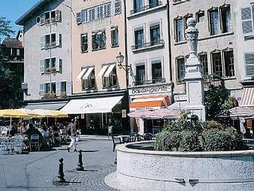Švajcarska Trg+Bourg-de-Four+02