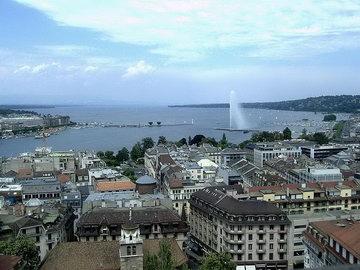 Švajcarska Panorama+grada