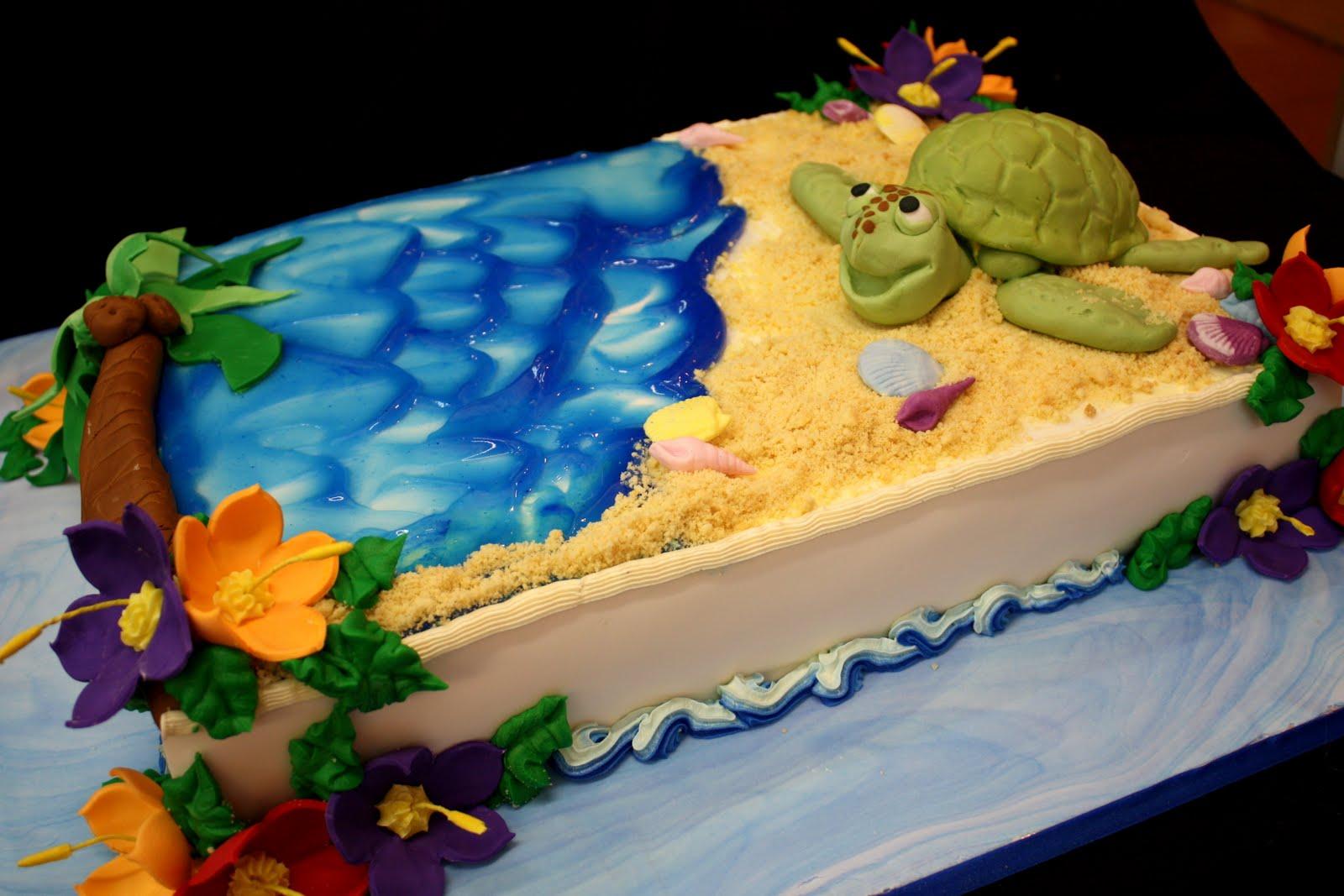 Complete Deelite: Hawaiian Turtle Cake!