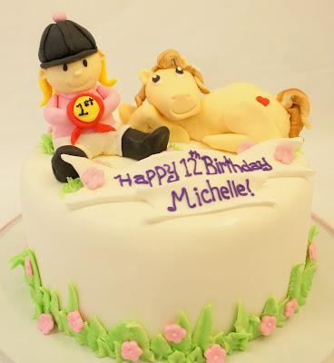 Birthday Cake Horse. For a tween irthday,