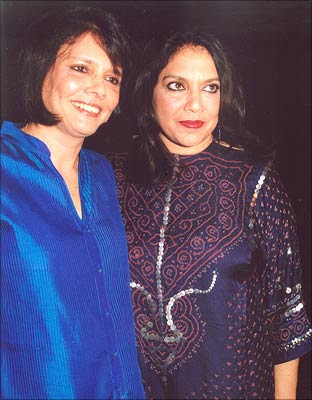 Sooni Taraporevala and Mira Nair