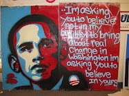 Painting in Denver Obama HQ