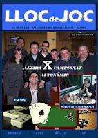 Revista de ajedrez Lloc de Joc, primer número