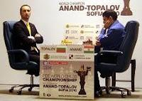 Topalov vs. Anand en el Campeonato del Mundo de Ajedrez Sofía 2010