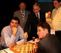 Partida de ajedrez Kramnik contra Leko en el Torneo de Dortmund 2008