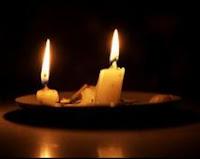 Las mechas de un par de velas como reloj en preguntas y respuestas
