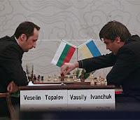 Partida de ajedrez Topalov contra Ivanchuk en el Supertorneo Pearl Spring 2008 en Nanjing, china