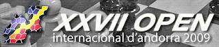XXVII  Open internacional de ajedrez de Andorra