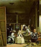 Cuadro lienzo Las Meninas o La familia de Felipe IV de Diego Velázquez