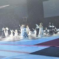 Ceremonia de cierre de la XXXIX Olimpiada de Ajedrez 2010