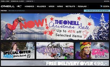 Tienda oficial online de ropa de la marca ONeill